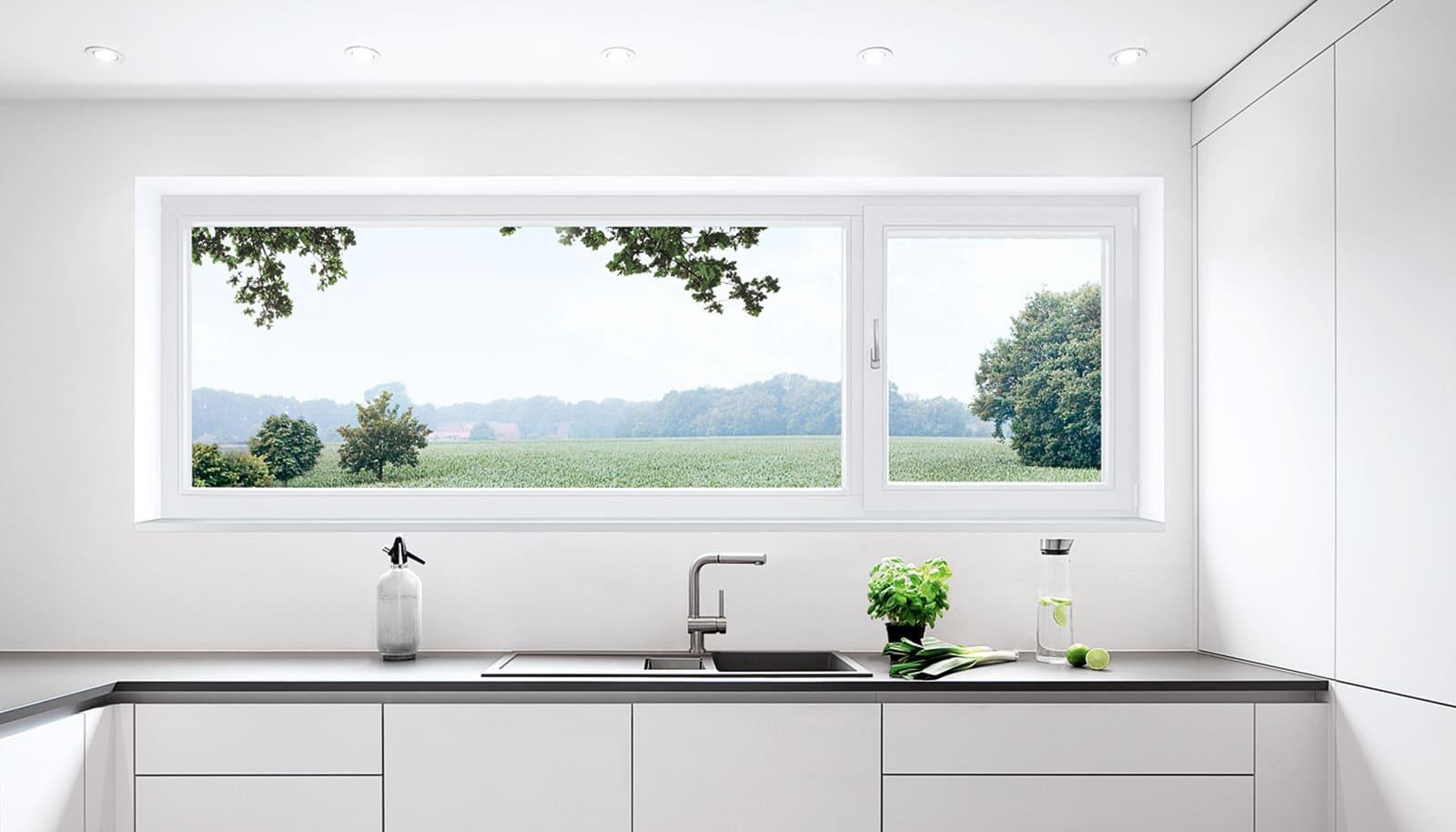 Kunststofffenster, Küchenfenster