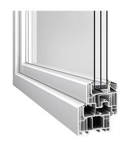 Kunststofffenster Profil Eforte
