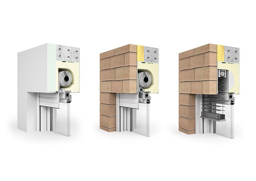 Neubauaufsatzkasten Rollladensysteme